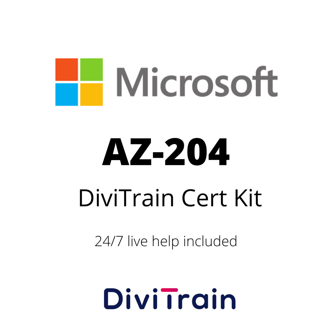 CertKit: AZ-204: Developing Solutions for Microsoft Azure | 24/7 Live Help Included | 365 Days Access