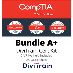 Bundle CompTIA A+ 220-1001 and 220-1002 | 24/7 Live Help and Live Labs included - 365 Days Access