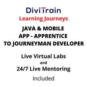 JAVA & Mobile App- Apprentice To Journeyman Developer | 4 Tracks | 24/7 Live Mentoring and 24/7 Live Labs Included | Practice Tests | 365 Days Access