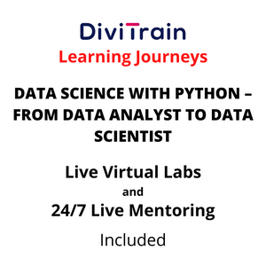 Data Science With PYTHON – From Data Analyst To Data Scientist | 4 Tracks | 24/7 Live Mentoring and 24/7 Live Labs Included | Practice Tests | 365 Days Access