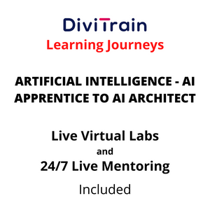 ARTIFICIAL INTELLIGENCE - AI Apprentice To AI Architect | 4 Tracks | 24/7 Live Mentoring and 24/7 Live Labs Included | Practice Tests | 365 Days Access