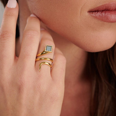 The Healing Serpent Ring