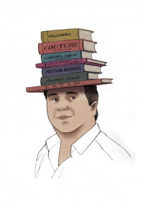 The Hat of Knowledge designed by Kristof Buntinx