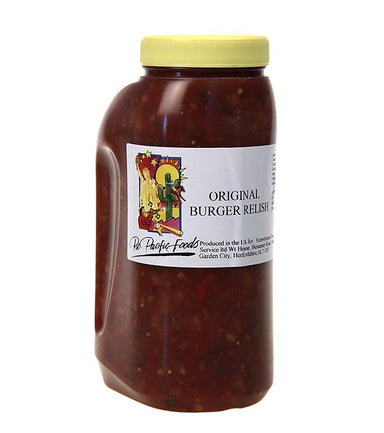 Hamburger Relish, Haywards, 2,5 kg - saucer, supper, fund - Krydderikoncentrater -