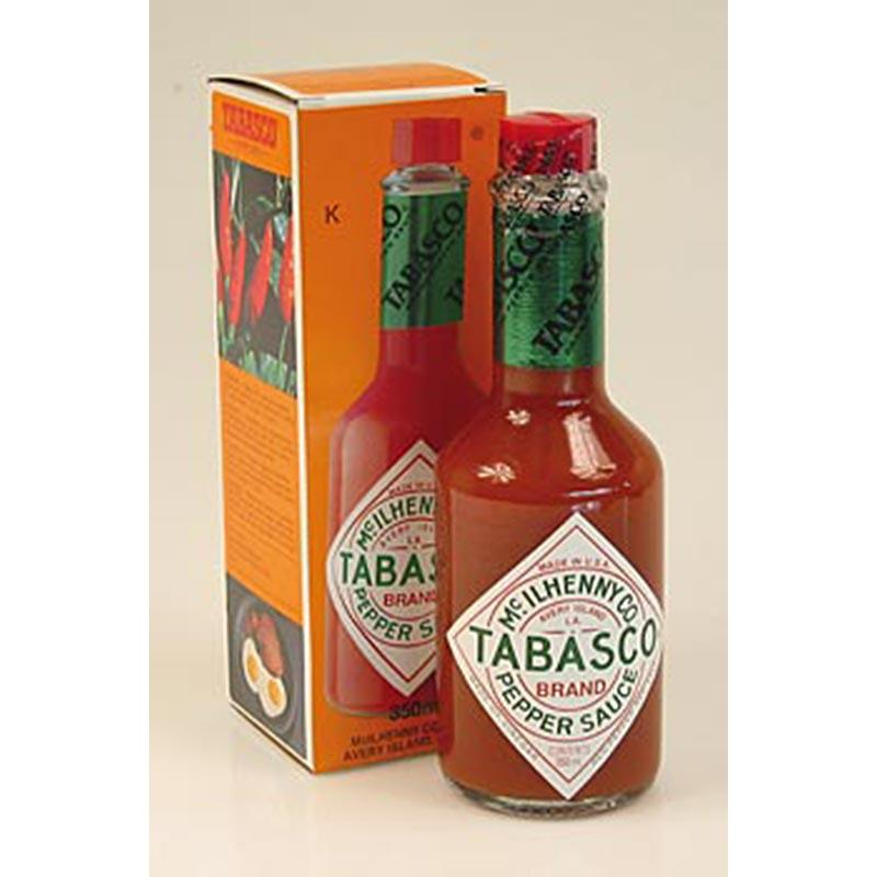 Tabasco, rød, krydret, McIlhenny, 350 ml - Saucer, supper, fund - chutneys, pesto, saucer og specialiteter -