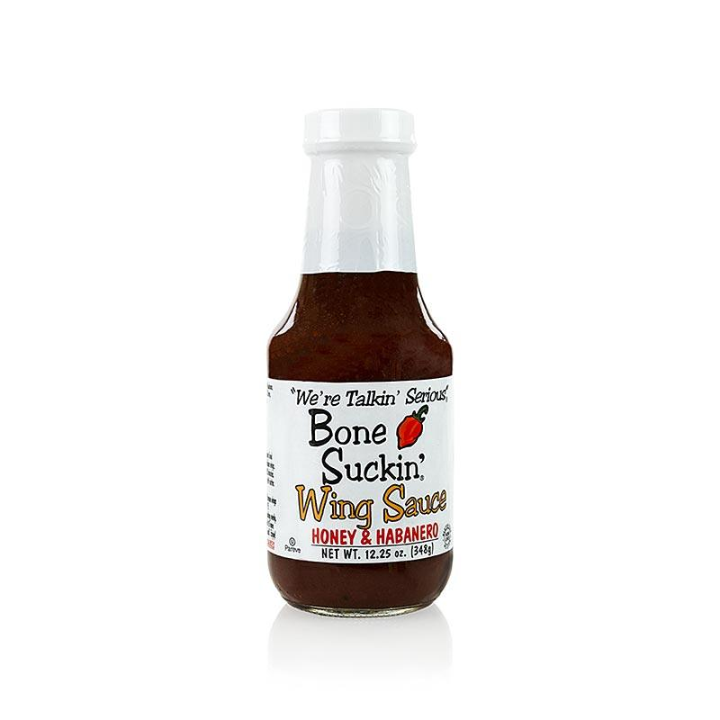 Bone Suckin´ Chicken Wing Sauce - Honey-Habanero, Ford´s Food,  362 ml