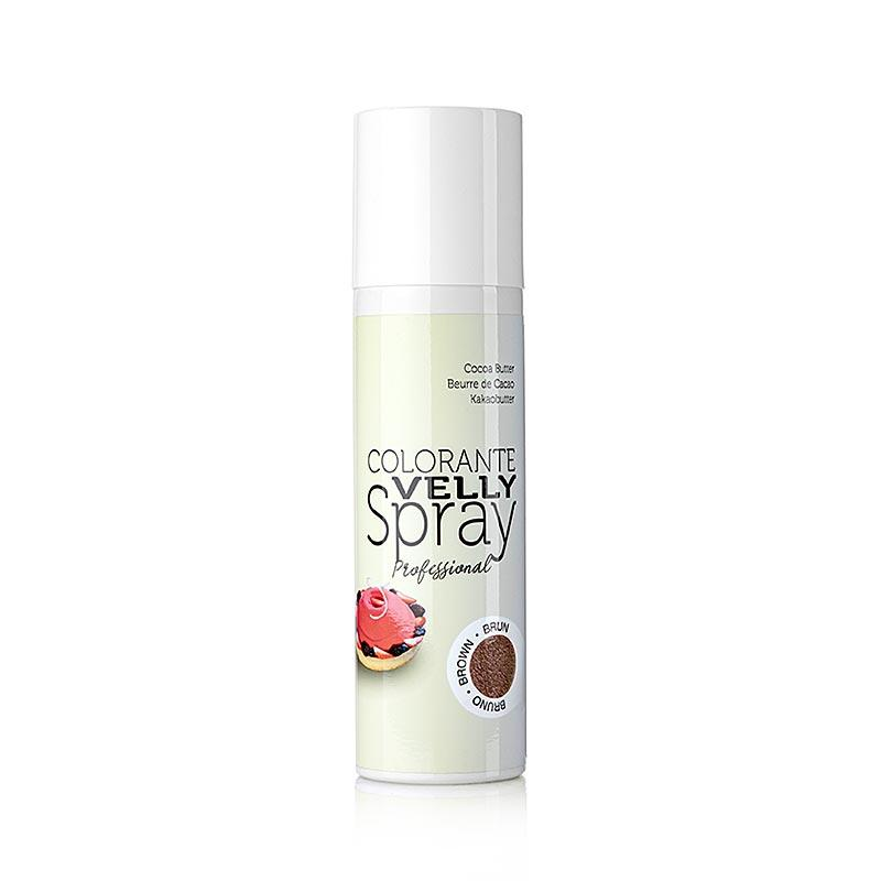 Cocoa Butter Spray, fløjl / fløjl virkning, brun, Velly, 250 ml -