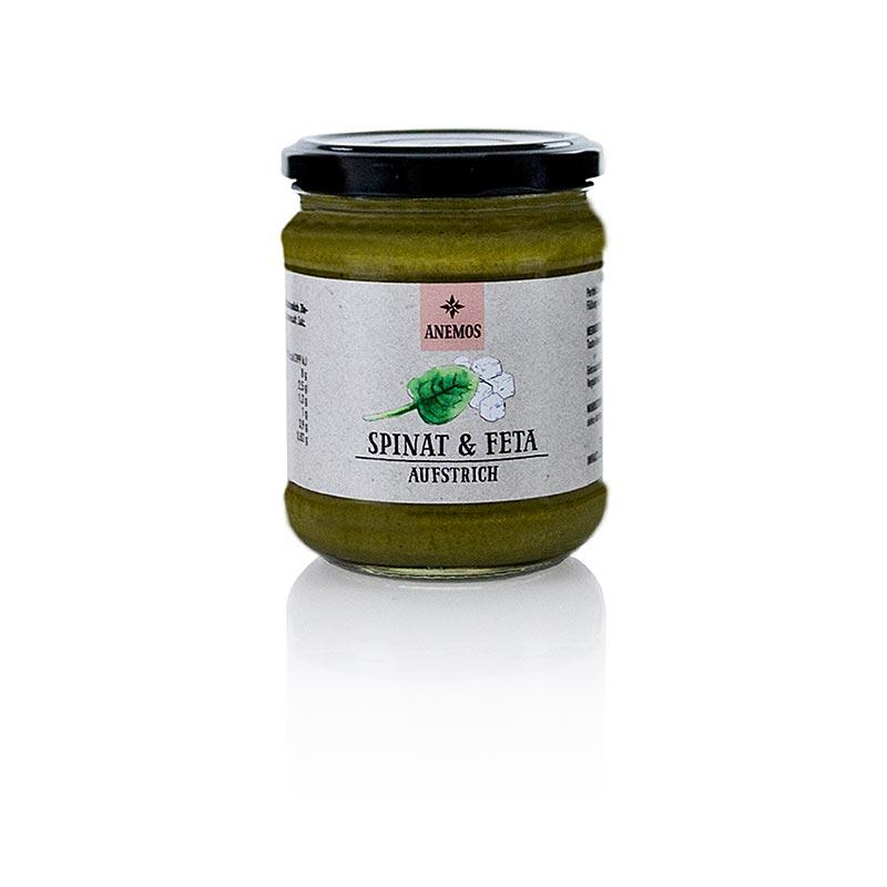 Anemos spinat & feta tapenade, 200g - Saucer, supper, fund - chutneys, pesto, saucer og specialiteter -