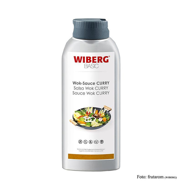 WIBERG BASIC Wok Sauce Curry, Squeezeflasche,  665 ml