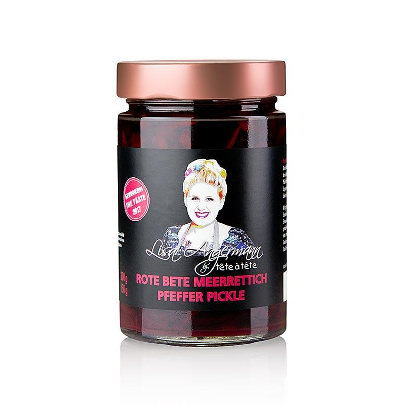 Rødbeder - peberrod - Pepper Pickle, Lisa Angermann, 300 g - Saucer, supper, fond - Pickles Lisa Angermann -