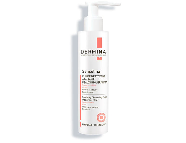 Soothing Cleansing Fluid Sensélina, Dermina