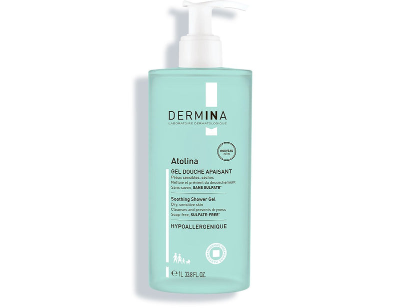 Soothing Shower Gel Atolina, Dermina