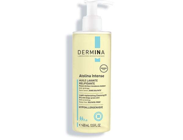 Lipid-Replenishing Cleansing Oil Atolina, Dermina
