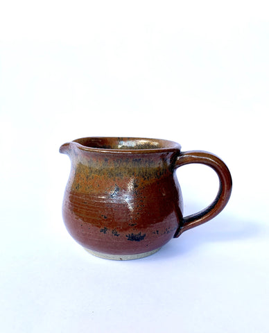 Small Brown Pitcher