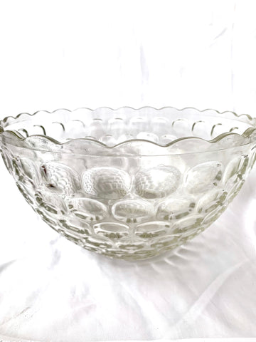 Bubble (Wrap) Punch Bowl, with Matching Side Dish!