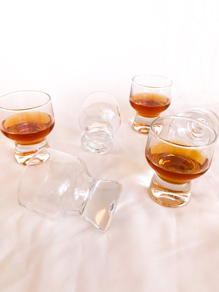 Bubble-Bum Shot Glasses (tiny) (set of 6)
