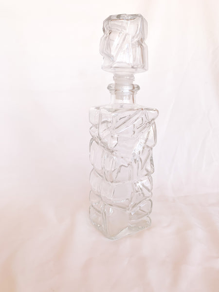 Rock Wall Decanter