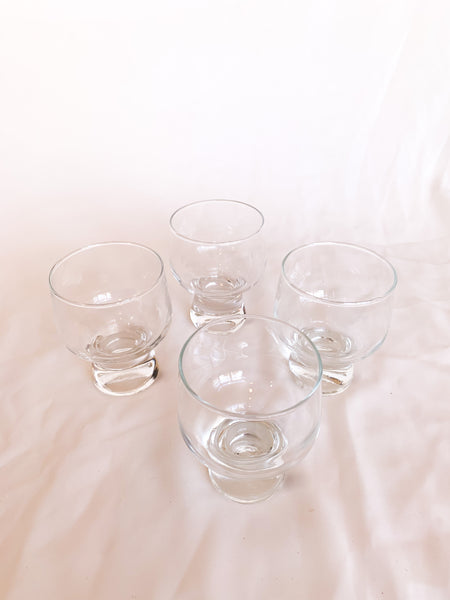Bubble-Bum Glasses (small) (set of 4)
