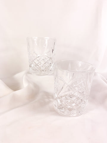 Crystal Clear Tumblers (2)