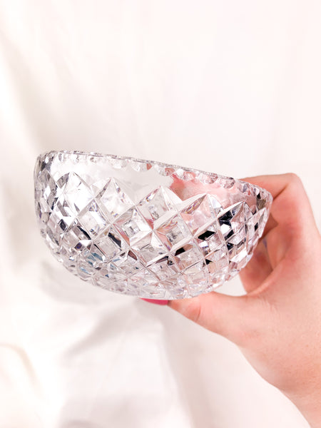 Diamond Pattern Trinket Bowl