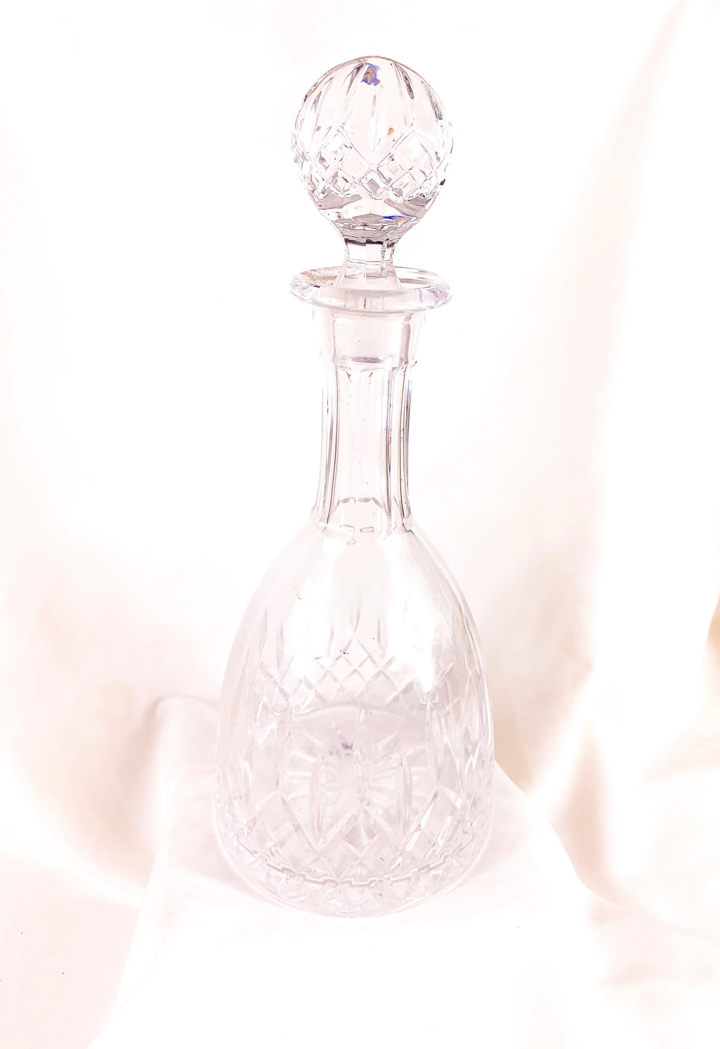 Your Crystal Ball Decanter