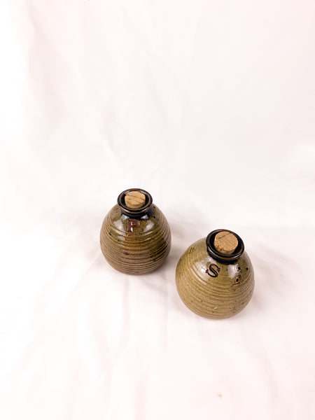 Salt and Pepper Pots (With Corks!)