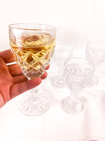 Bohemia Crystal Sherry Glasses (5)