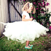 Lil Wendy Toddler–Green Ballet Flat–Mary Jane-Jelly Shoes