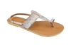 Lanni – Natural Leather Sandals – Ladies T Bar Sandals