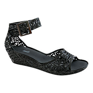 Maria – Black Sandal –  Jelly Shoes