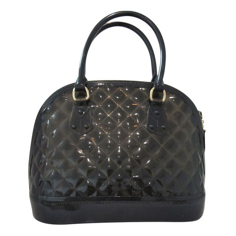 Black Handbag – Womens Quilted Jelly Bag