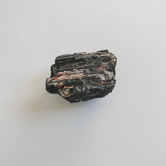 Black Tourmaline with Mica Rough III