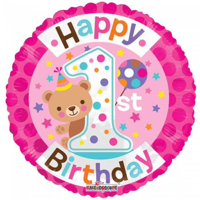 Happy birthday: 1 jaar