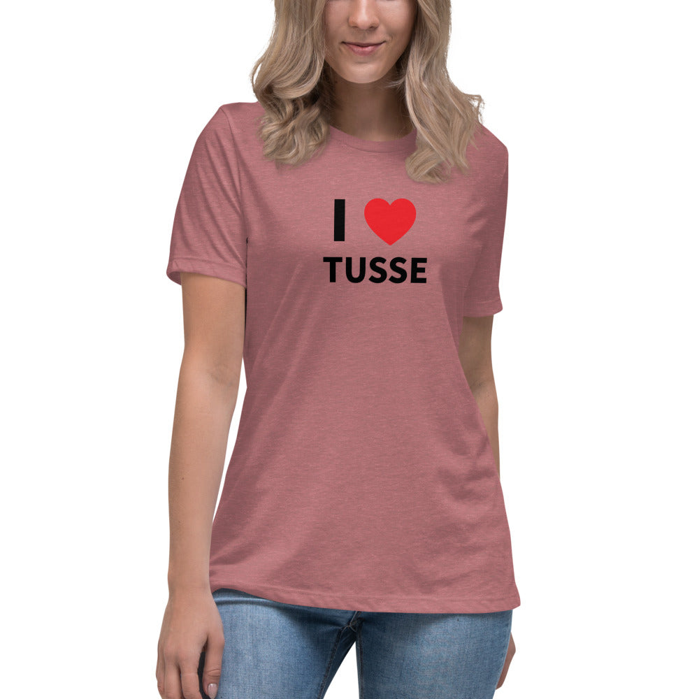 I Heart Tusse Women's Relaxed T-Shirt