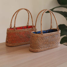 將圖片載入圖庫檢視器 Bali Rattan Net Handbag Premium Quality Unique Handmade Gifts And Accessories - Ganapati Crafts Co