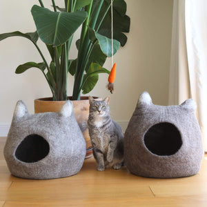 Cat Cave - Cat Ears Premium Quality Unique Handmade Gifts And Accessories - Ganapati Crafts Co