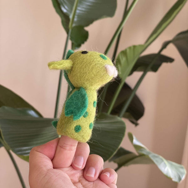 Dragon Finger Puppet Premium Quality Unique Handmade Gifts And Accessories - Ganapati Crafts Co