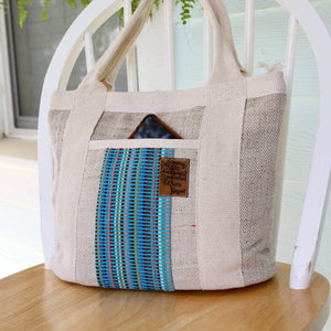 Fair trade WSDO allo pocket tote bag Premium Quality Unique Handmade Gifts And Accessories - Ganapati Crafts Co