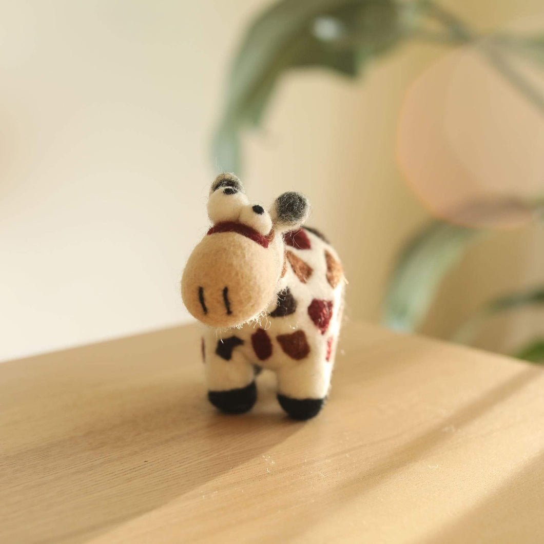 Felt Crazy Cow Premium Quality Unique Handmade Gifts And Accessories - Ganapati Crafts Co
