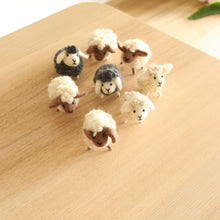 Load image into Gallery viewer, Felt Mini Sheep Decoration Premium Quality Unique Handmade Gifts And Accessories - Ganapati Crafts Co