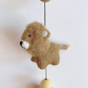 Felt safari animal garland Premium Quality Unique Handmade Gifts And Accessories - Ganapati Crafts Co