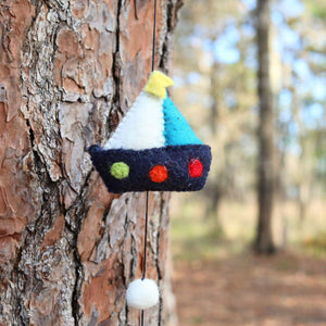 Felt Transportation Garland Premium Quality Unique Handmade Gifts And Accessories - Ganapati Crafts Co