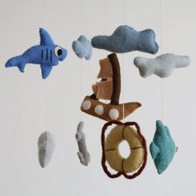 將圖片載入圖庫檢視器 Felt Under The Sea Baby Mobile Premium Quality Unique Handmade Gifts And Accessories - Ganapati Crafts Co