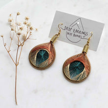 Load image into Gallery viewer, Flourish - Syrian Drop Earrings Not Bombs Premium Quality Unique Handmade Gifts And Accessories - Ganapati Crafts Co
