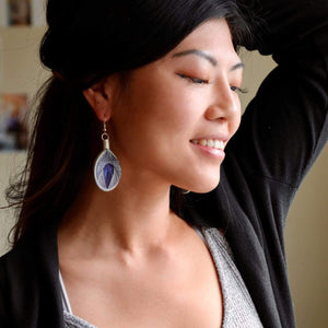Gizem - Syrian Drop Earrings Not Bombs Premium Quality Unique Handmade Gifts And Accessories - Ganapati Crafts Co