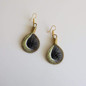 Hilal - Syrian Drop Earrings Not Bombs Premium Quality Unique Handmade Gifts And Accessories - Ganapati Crafts Co
