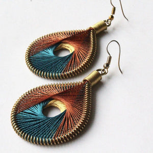 Neha - Syrian Drop Earrings Not Bombs Premium Quality Unique Handmade Gifts And Accessories - Ganapati Crafts Co