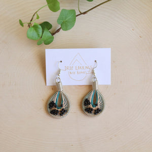 Zaitoun - Refugee Made Jewelry | Syrian Drop Earrings Not Bombs Premium Quality Unique Handmade Gifts And Accessories - Ganapati Crafts Co