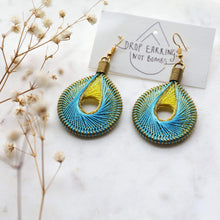 將圖片載入圖庫檢視器 Sand - Syrian Drop Earrings Not Bombs Premium Quality Unique Handmade Gifts And Accessories - Ganapati Crafts Co