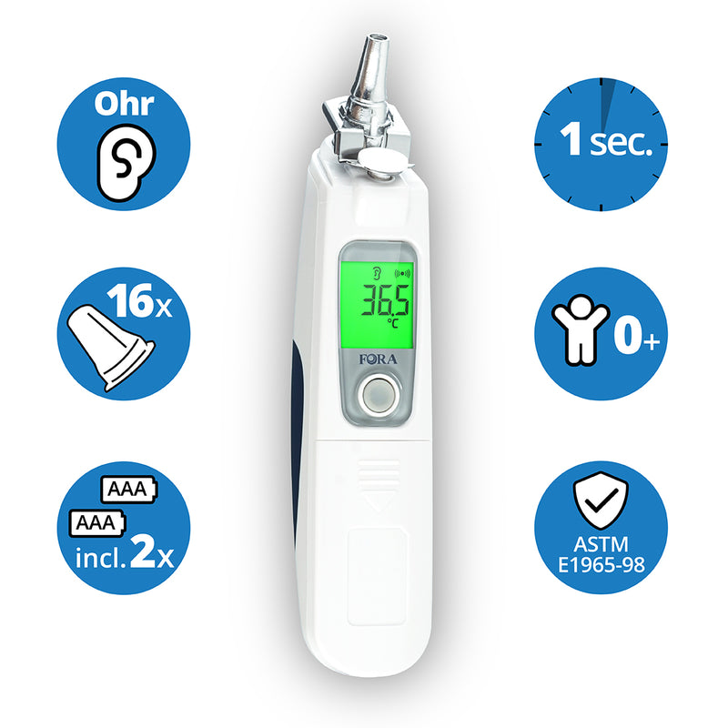 FORA IR20b – medizinisches Ohrthermometer